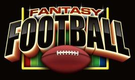 Futebol da fantasia Fotografia de Stock Royalty Free