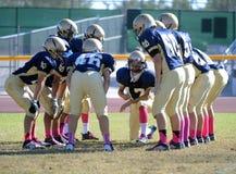 Futebol da High School Fotografia de Stock Royalty Free
