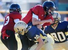Futebol da High School Imagens de Stock Royalty Free