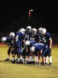 Futebol da High School Foto de Stock Royalty Free
