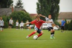 Futebol da juventude imagem de stock royalty free