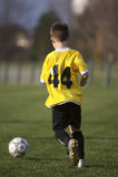Futebol da juventude Fotos de Stock
