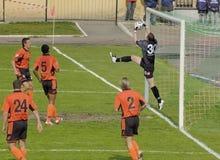 Futebol da liga 1 do russo Fotografia de Stock Royalty Free