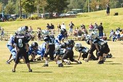 Futebol da liga júnior Foto de Stock Royalty Free