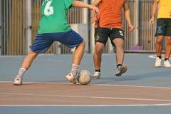 Futebol da rua Fotos de Stock Royalty Free