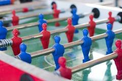 Futebol da tabela Fotos de Stock