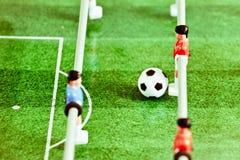 Futebol da tabela Imagem de Stock Royalty Free