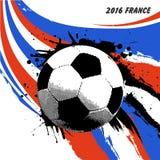 Futebol 2016 de França do Euro Imagem de Stock Royalty Free