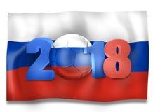 Futebol 2018 de Rússia Fotos de Stock