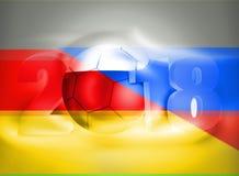 Futebol 2018 de Rússia Alemanha Fotografia de Stock Royalty Free