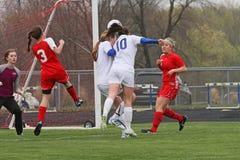 Futebol de Womanâs Fotos de Stock