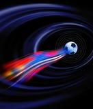 Futebol do copo de mundo Imagem de Stock