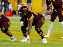 Futebol do estado do Arizona Foto de Stock