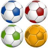 Futebol do futebol Imagem de Stock Royalty Free