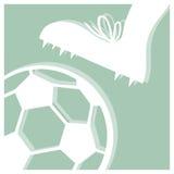 Futebol do futebol ilustração stock