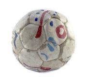 Futebol do Grunge Imagem de Stock