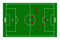 Futebol do joaninha da formiga Imagem de Stock