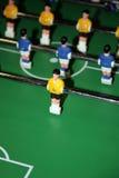 Futebol do jogo de mesa imagem de stock