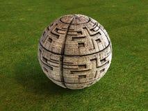 Futebol do Maya Foto de Stock