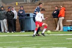 Futebol do NCAA DIV III Men's da faculdade Imagens de Stock