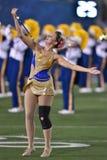 2015 futebol do NCAA - estado de Oklahoma em West Virginia Imagem de Stock Royalty Free