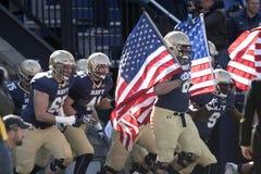 2015 futebol do NCAA - Florida sul na marinha Imagem de Stock Royalty Free
