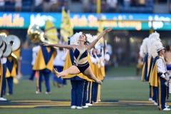 2015 futebol do NCAA - GA @ WVU do sul Fotografia de Stock