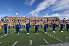 2015 futebol do NCAA - Maryland @ WVU Fotos de Stock Royalty Free