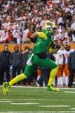 Futebol do NCAA - Oregon no estado de Oregon Fotos de Stock Royalty Free