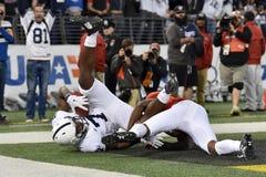 2015 futebol do NCAA - Penn State contra maryland foto de stock