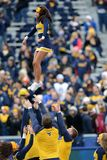 2014 futebol do NCAA - TCU-WVU Fotos de Stock