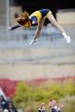 2014 futebol do NCAA - TCU-WVU Imagem de Stock Royalty Free