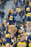 2014 futebol do NCAA - TCU-WVU Imagens de Stock Royalty Free