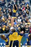 2014 futebol do NCAA - TCU-WVU Foto de Stock