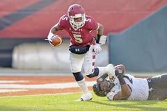 2014 futebol do NCAA - Templo-Cincinnati Fotos de Stock Royalty Free