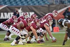 2014 futebol do NCAA - Templo-Cincinnati Imagem de Stock Royalty Free