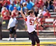 2015 futebol do NCAA - USF @ Maryland Imagens de Stock
