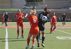 Futebol do NCAA Womenâs Fotos de Stock