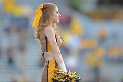 2014 futebol do NCAA - WVU-Oklahoma Imagens de Stock