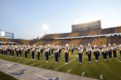 2014 futebol do NCAA - WVU-Oklahoma Imagem de Stock Royalty Free