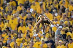2014 futebol do NCAA - WVU-Oklahoma Fotografia de Stock
