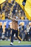 2014 futebol do NCAA - WVU-Oklahoma Fotografia de Stock Royalty Free