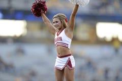 2014 futebol do NCAA - WVU-Oklahoma Foto de Stock