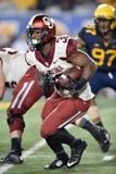 2014 futebol do NCAA - WVU-Oklahoma Foto de Stock Royalty Free