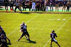 Futebol do noroeste dos Wildcats Fotografia de Stock