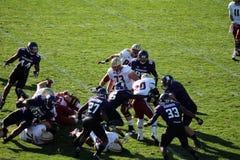 Futebol do noroeste dos Wildcats Imagem de Stock Royalty Free