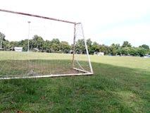 Futebol do objetivo Fotos de Stock