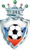 Futebol do russo Imagens de Stock