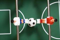 Futebol do Tabletop Foto de Stock