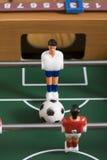 Futebol do Tabletop Fotografia de Stock Royalty Free